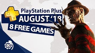 PlayStation Plus (PS+) August 2018