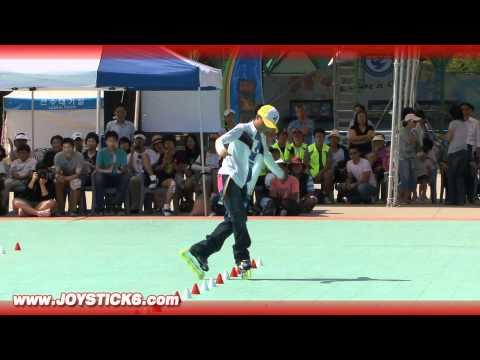 Freestyle Rollerblade Slalom style Champion - 2008 - Chen Chen - 陳晨