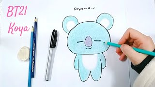 Bt21 Koya Easy Drawing Free Video Search Site Findclip