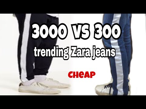 Fake Zara Jeans At ₹300 Only !!