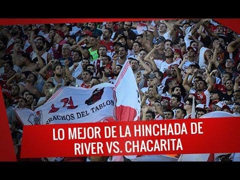 """""""River vs. Chacarita - Superliga 2017/18 - Lo mejor de la Hinchada"""" Barra: Los Borrachos del Tablón • Club: River Plate"""