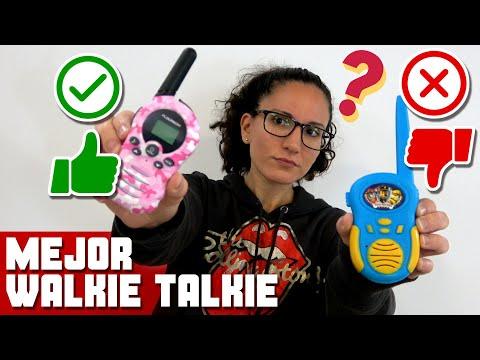 Walkie Talkie para Niños! ¿Cual es Mejor?