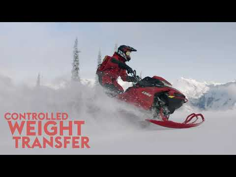 "2022 LYNX BoonDocker DS 4100 850 E-TEC PowderMax Light FlexEdge 3.0"" SHOT - EARLY INTRO in Rexburg, Idaho - Video 1"