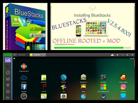 BlueStacks HD App Player Pro 2 0 4 5627 + Rooted + Mod
