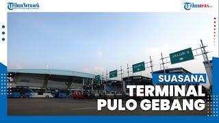 Suasana H-1 Jelang Larangan Mudik Terminal Pulo Gebang