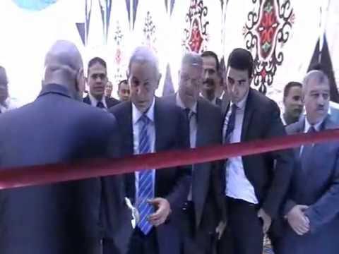زيارة الوزير / طارق قابيل لمدينة السادس من اكتوبر