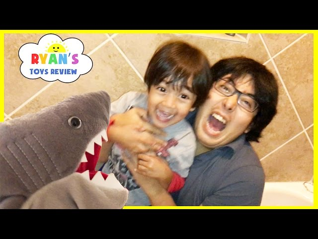 SHARK  Playing Hiding and Seek Activities for Kids