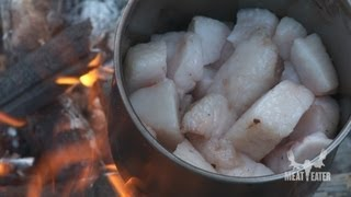How to Cook Bear Meat in Bear Fat with Steven Rinella - MeatEater