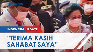 Sama-sama Resmikan Patung Bung Karno, Prabowo Subianto Dipuji Megawati: Terimakasih Sahabat Saya