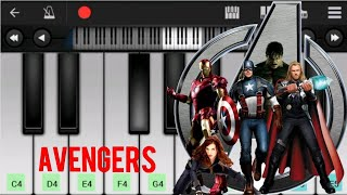 how to play avengers infinity war theme on piano easy slow