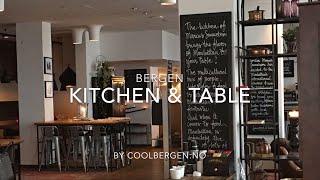 Restaurants in Bergen - Kitchen & Table