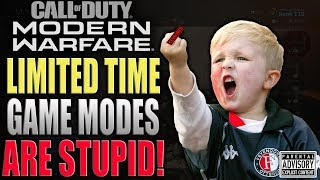 MODERN WARFARE | LIMITED TIME GAME MODES SUCK! Infinity Ward does it again...