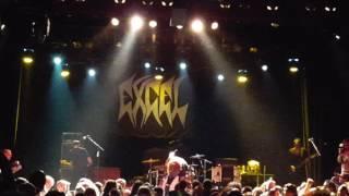 """Excel """"Split Image"""" @ El Rey Theatre 8/27/16"""