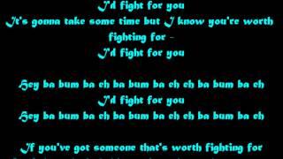 Jason Derulo  Fight For You Lyrics