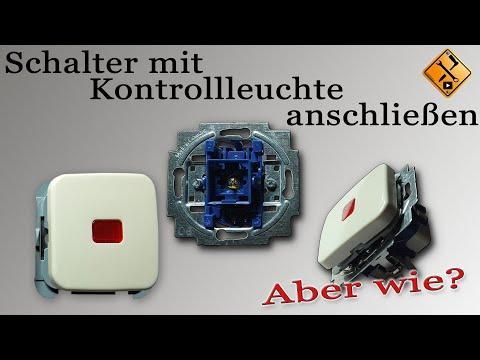 Schalter mit Kontrollleuchte anschließen Teil 1 (Wechselschalter mit Kontrollleuchte) von M1Molter