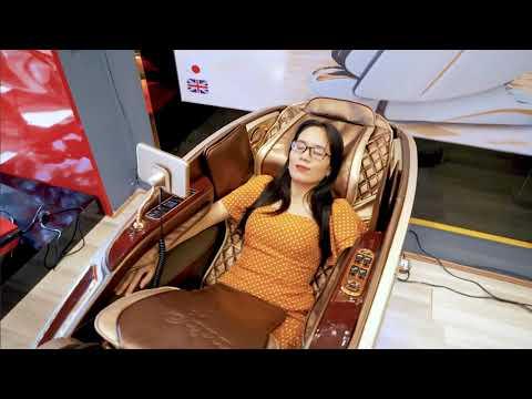 Ghế massage trị liệu Japa JP 2022 RR - Ghế massage được săn lùng nhiều nhất năm 2021