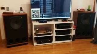 Tannoy Legacy Arden Audio Test 192Khz 24bit Cambridgeaudio DACMAGIC PLUS Unison Research Unico Due