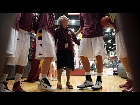 Meet 98-year-old Sister Jean: college basketball's rising star