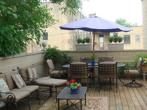 A full-floor penthouse with three outdoor spaces in Ravenswood, priced under $500K