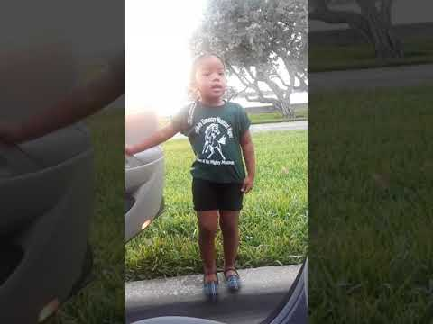 Dior watches the water flow before school
