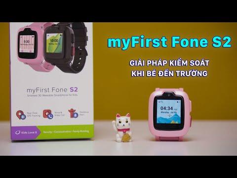 myFirst Fone S2: Đồng hồ trẻ em mới nhất tới từ Singapore   [Review DHDV]