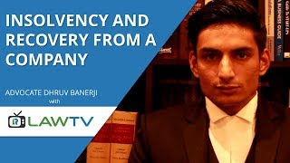 Indian Kanoon - Insolvency and recovery from a company - LawRato