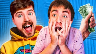 Surprising Lox With MrBeast.. (Real Life)