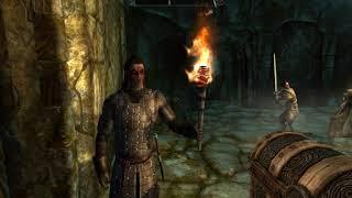 МОДЫ Skyrim #3 Броня и новое оружие Исграмора, новый Вутрад