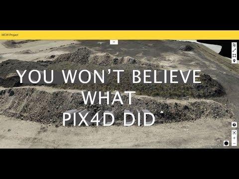 Use Pix4D to create a 3D model on your computer - смотреть онлайн на