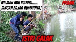 ISTRI GALAK PAKSA PULANG MANCING + GIVAWAY!   Prank Indonesia