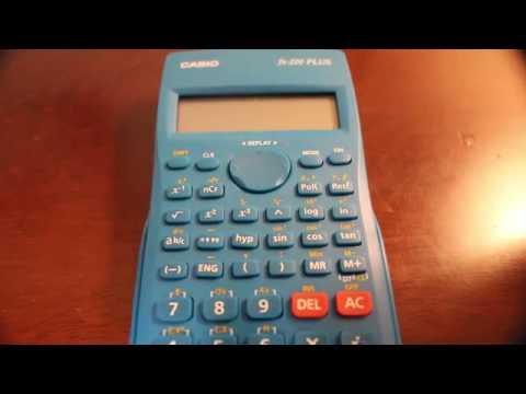 Come Resettare una Calcolatrice Scientifica - How to Reset a Calculator - CASIO