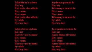 Zahid Bizi Ta'n Eyleme (Zahid Don't Decry Us)
