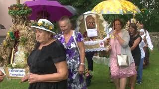 100 mečio Žolinių atlaidų procesija Punske