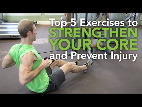 Top 5 Exercises to Strengthen Your Core and Prevent Injury