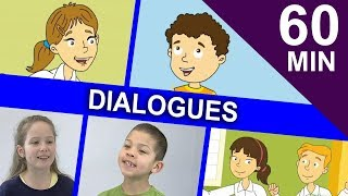 SIMPLE KIDS DIALOGUES   One hour Collection of Easy English Stories