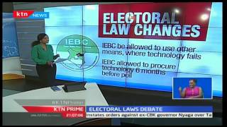 KTN Prime: Deciphering the Elections Laws amendments that Jubilee MP's are rooting for
