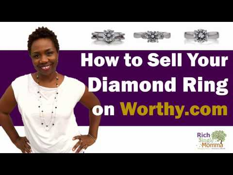 Worthy.com Review Tutorial: How to Sell a Diamond Engagement Ring Online