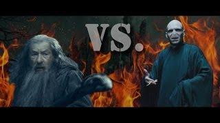 Gandalf vs. Lord Voldemort - Epic Duel