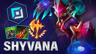 Why FULL HEAL Shyvana TOP is suddenly so OP in Korea