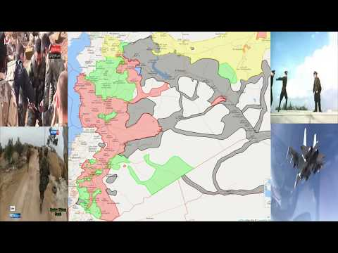 Syrian War Timelapse Since Start of Russian Intervention