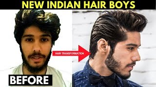 NEW HAIRSTYLE 2018 | INDIA | Men Hairstyle 2018 TUTORIAL.