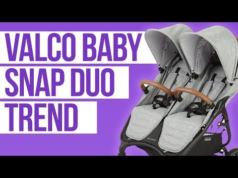 Valco Baby Snap Duo Trend 2018 | Double Stroller Review