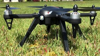 MJX Bugs 3 Drone Quadcopter Outdoor Maiden Flight In Strong Wind With Runcam 2 Flight Footage