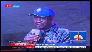 Raila Odinga warns Kenyans against handing Jubilee another term