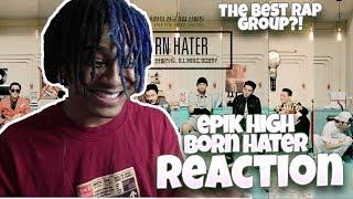 EPIK HIGH (에픽하이) - 'BORN HATER' OFFICIAL M/V - REACTION | THIS is CRAZY
