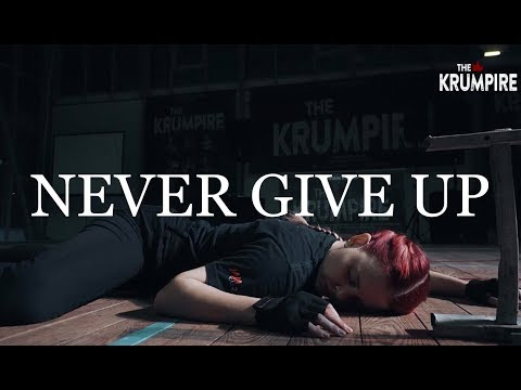 NEVER GIVE UP by @jajavankova