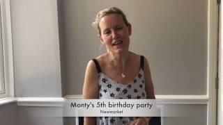 Monty's 5th birthday party