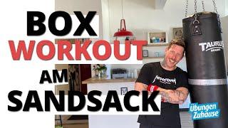 13 Minuten Boxsack Workout & effektives Springseil Warmup (HIIT)