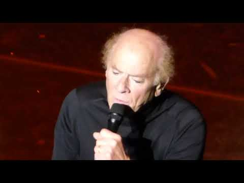 Art Garfunkel,  Bridge Over Troubled Water, live 12 April 2019