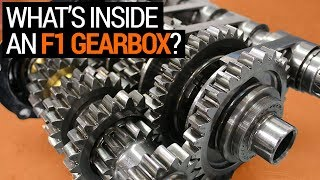 What's Inside an F1 Gearbox (& How it Works)